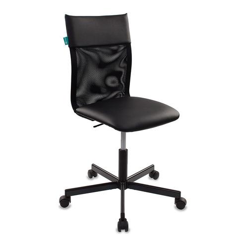 Кресло БЮРОКРАТ CH-1399, на колесиках, искусственная кожа, черный [ch-1399/black] кресло бюрократ ch 1399 на колесиках искусственная кожа серый [ch 1399 grey]