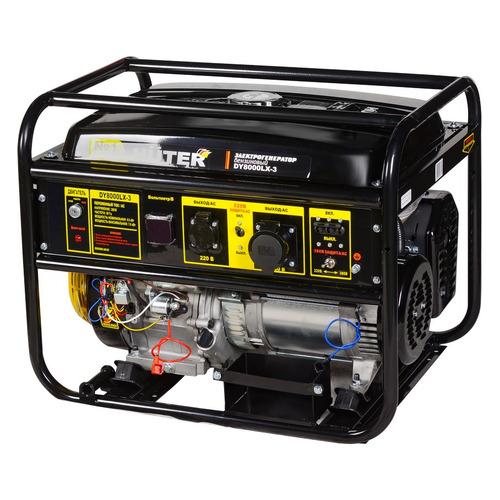 Бензиновый генератор HUTER DY8000LX-3, 380 В, 7кВт [64/1/28] генератор бензиновый huter dy8000lх 3 64 1 28 15 л с 6 5 квт