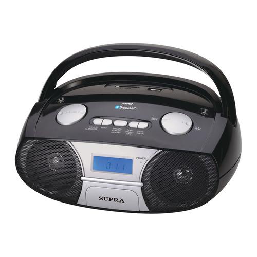 Аудиомагнитола SUPRA BB-45MUSB, черный  - купить со скидкой
