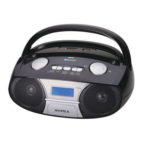 Аудиомагнитола SUPRA BB-45MUSB, черный цены