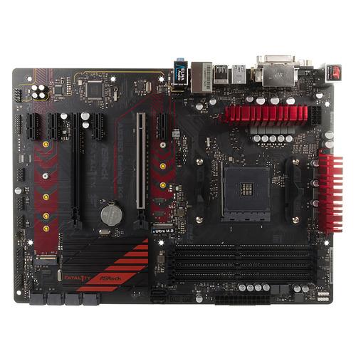 Материнская плата ASROCK AB350 Gaming K4, SocketAM4, AMD B350, ATX, Ret цена