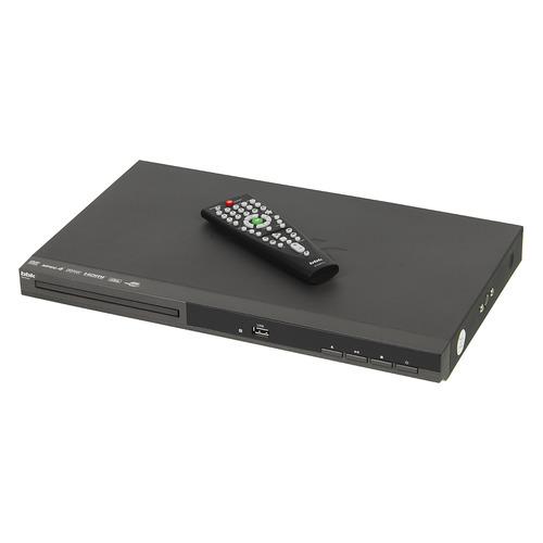 DVD-плеер BBK DVP036S, темно-серый