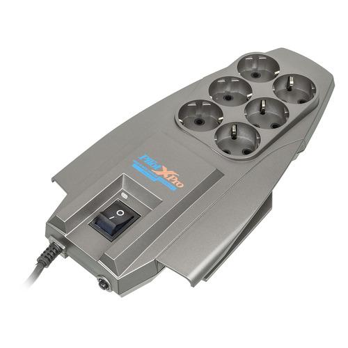 цена на Сетевой фильтр PILOT X-Pro, 1.8м, серый
