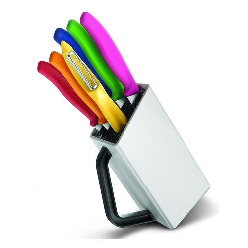Набор кухонных ножей VICTORINOX 6.7127.6L14 Swiss Classic