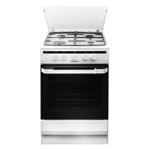 Газовая плита HANSA FCGW51050, газовая духовка, белый