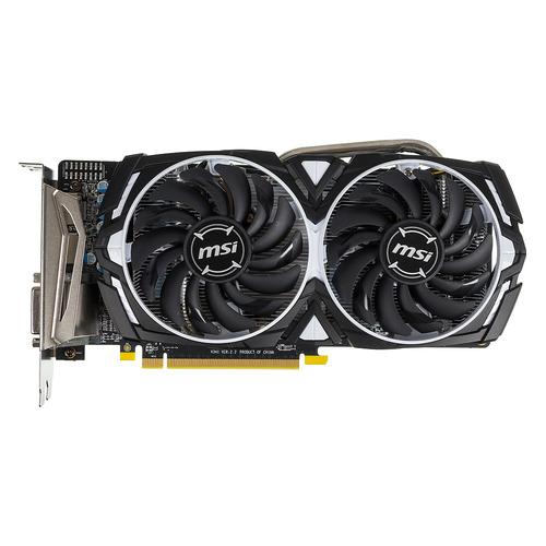 Видеокарта MSI AMD Radeon RX 570 , Radeon RX 570 ARMOR 4G OC, 4Гб, GDDR5, OC, Ret недорого