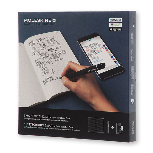 Набор Smart Writing Moleskine (блокнот Paper Tablet/ ручка SMART PEN+) original luxury brand metal fountain pen for calligraphy writing kids student gift korean stationery free shipping 912