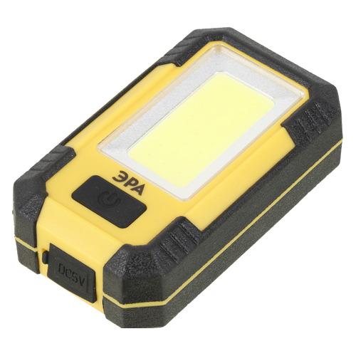 Универсальный фонарь ЭРА RA-801 Практик, черный / желтый, 15Вт [б0027824]
