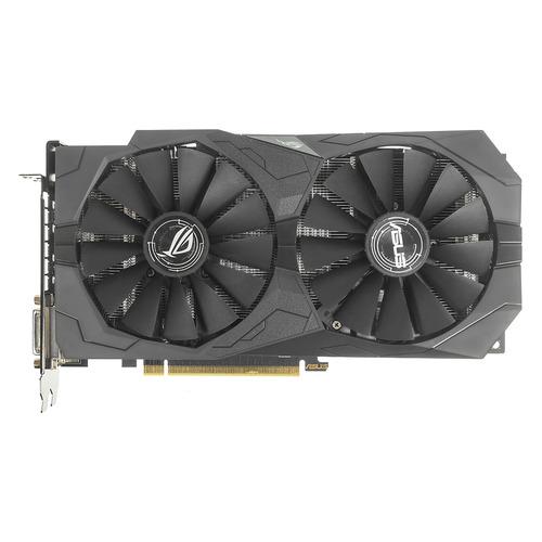 Видеокарта ASUS AMD Radeon RX 570 , ROG-STRIX-RX570-O4G-GAMING, 4Гб, GDDR5, OC, Ret недорого