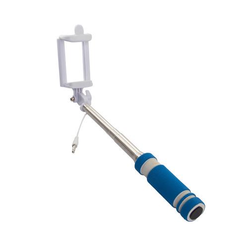 Cелфи-палка REKAM SelfiPod S-350L, синий cелфи палка hama черный [00004444]