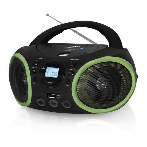 лучшая цена Аудиомагнитола BBK BX150BT, черный и зеленый