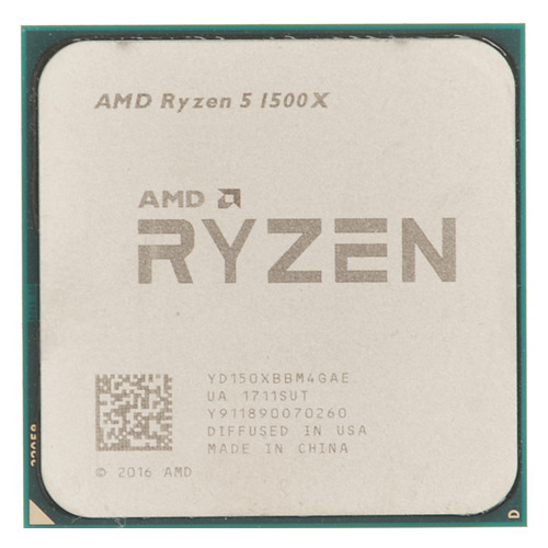 Процессор AMD Ryzen 5 1500X, SocketAM4 OEM [yd150xbbm4gae] free shipping 500pieces fuel injection corrugated rubber seals o ring size16 9 5 86mm for oem 23250 0c020 ay s4007
