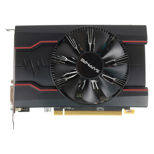 Видеокарта SAPPHIRE AMD Radeon RX 550 , 11268-01-20G RX 550 4G OC, 4Гб, GDDR5, OC, Ret все цены