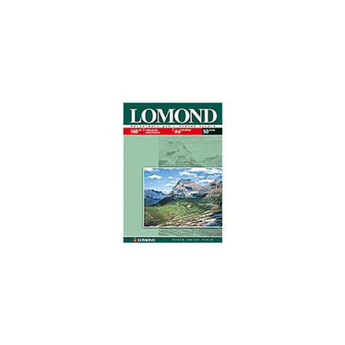 Фотобумага Lomond 0102054 A4/140г/м2/50л./белый глянцевое для струйной печати фотобумага lomond а4 240г м2 глянцевая 50л 102135