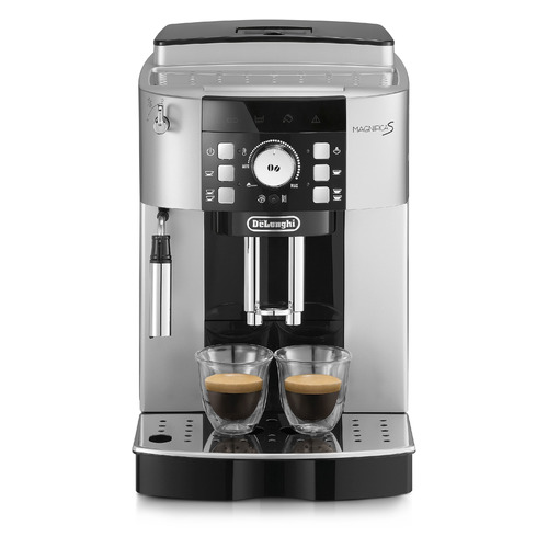 Кофемашина DELONGHI ECAM21.117.SB, серебристый/черный
