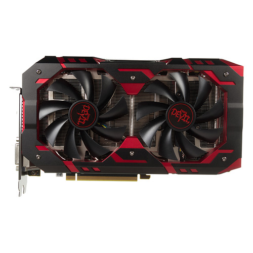 Видеокарта POWERCOLOR AMD Radeon RX 580 , AXRX 580 8GBD5-3DH/OC Red Devil, 8Гб, GDDR5, OC, Ret цена