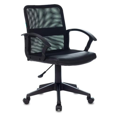 Кресло БЮРОКРАТ CH-590, на колесиках, искусственная кожа, черный [ch-590/black] цена и фото