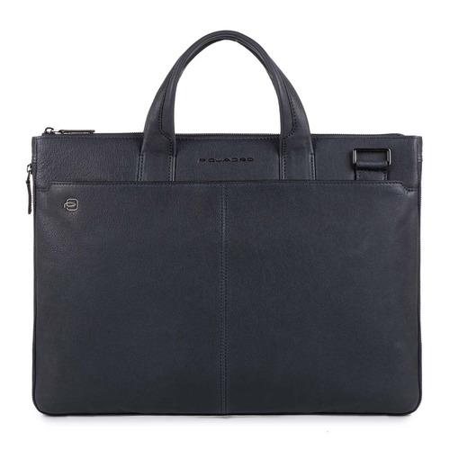 Сумка для ноутбука Piquadro Black Square CA4021B3/BLU синий натур.кожа сумка для ноутбука piquadro black square ca4021b3 n черный натур кожа