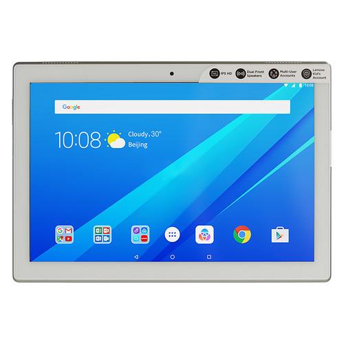 Планшет LENOVO Tab 4 TB-X304L, 2GB, 16GB, 3G, 4G, Android 7.0 белый [za2k0082ru] цена 2017