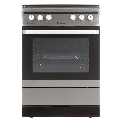 Газовая плита HANSA FCMX68022, электрическая духовка, нержавеющая сталь hansa fcmx68022