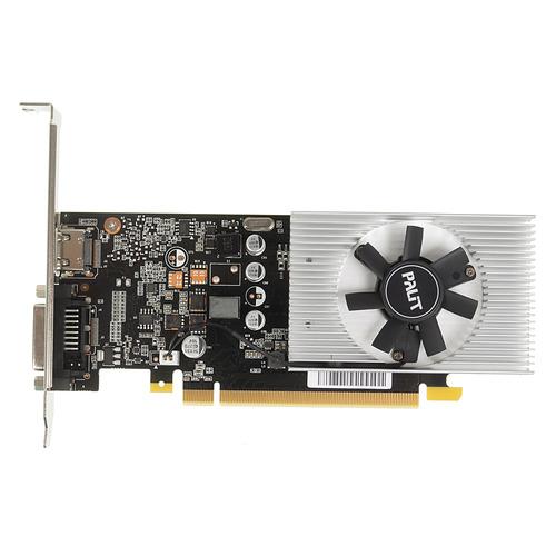 Видеокарта PALIT nVidia GeForce GT 1030, PA-GT1030 2GD5, 2Гб, DDR5, OC, Ret [ne5103000646-1080f]  - купить со скидкой