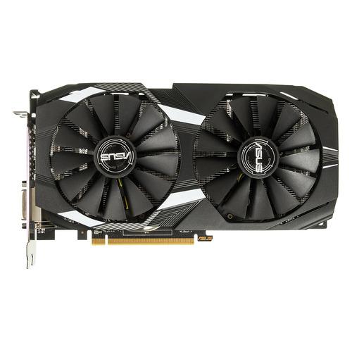 Видеокарта ASUS AMD Radeon RX 580 , DUAL-RX580-O4G, 4Гб, GDDR5, OC, Ret цена и фото