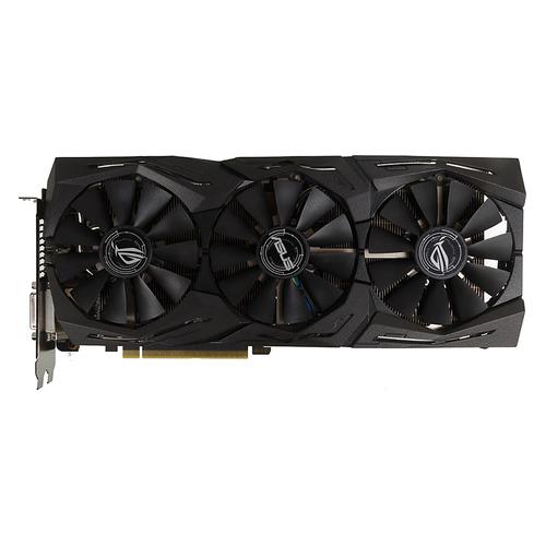 Видеокарта ASUS AMD Radeon RX 580 , ROG-STRIX-RX580-O8G-GAMING, 8Гб, GDDR5, OC, Ret цена и фото