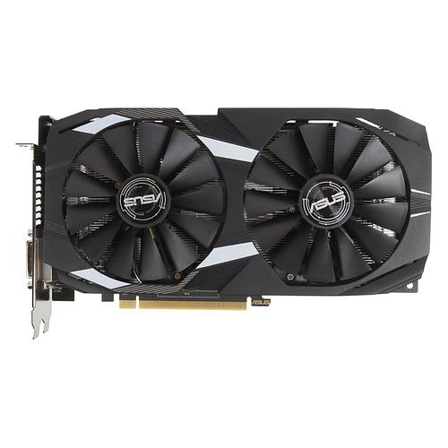 Видеокарта ASUS AMD Radeon RX 580 , DUAL-RX580-O8G, 8Гб, GDDR5, OC, Ret цена и фото