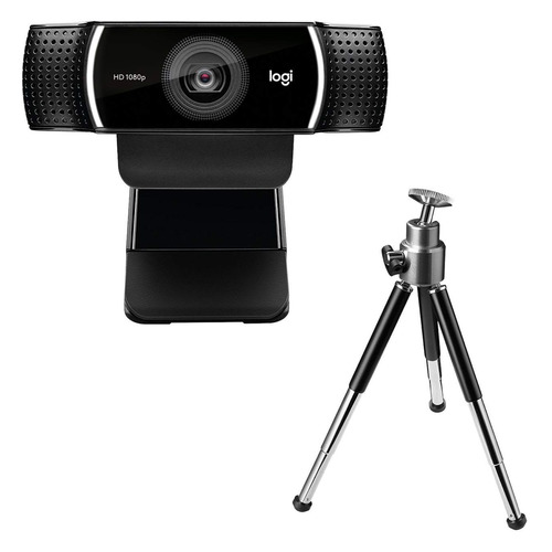 Фото - Web-камера LOGITECH Pro Stream C922, черный и черный [960-001088] веб камера web microsoft lifecam studio usb for business 5wh 00002 черный