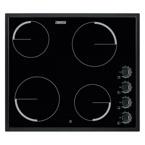 лучшая цена Варочная панель ZANUSSI ZEV56140NB, электрическая, независимая, черный