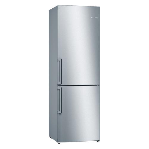 лучшая цена Холодильник BOSCH KGV36XL2OR, двухкамерный, нержавеющая сталь