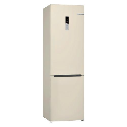 Холодильник BOSCH KGE39XK2AR, двухкамерный, бежевый холодильник bosch kgn39xg34r двухкамерный золотистый