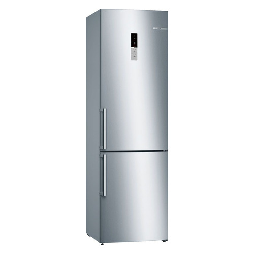 Холодильник BOSCH KGE39XL2OR, двухкамерный, нержавеющая сталь холодильник bosch kgn39xg34r двухкамерный золотистый