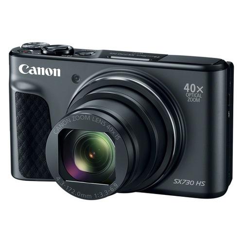 Фото - Цифровой фотоаппарат CANON PowerShot SX730HS, черный цифровой фотоаппарат canon powershot g5 x mark ii черный