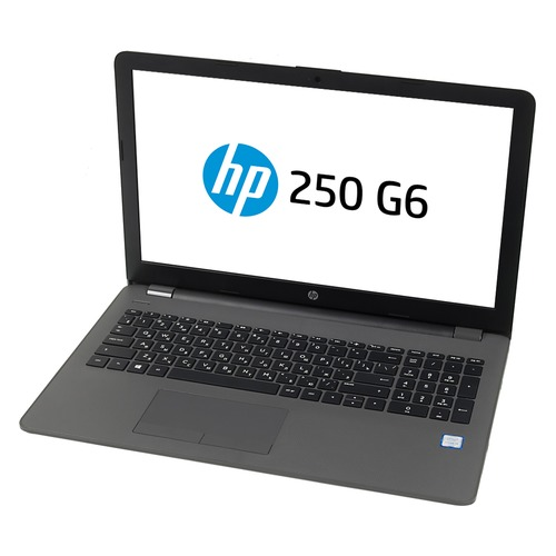 Ноутбук HP 250 G6, 15., Intel Core i3 6006U .0ГГц, 4Гб, 500Гб,  HD Graphics 520, DVD-RW, Windows 10 Professional, 1XN68EA, темно-серебристый