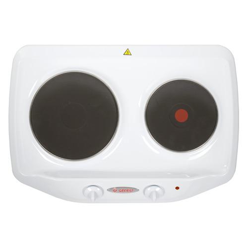 Плита Электрическая Gefest ПЭ 720 белый эмаль (настольная) плита электрическая gefest пэ 720 белый эмаль настольная