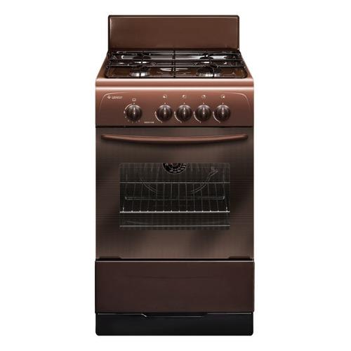 Газовая плита GEFEST ПГ 3200-08 К43, газовая духовка, коричневый газовая плита gefest пг 3200 08 газовая духовка белый
