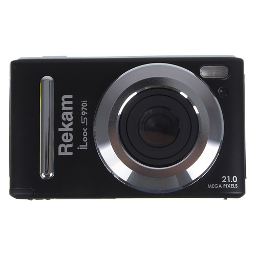 Фото - Цифровой фотоаппарат REKAM iLook S970i, черный 720p p2p mini ir security ip camera