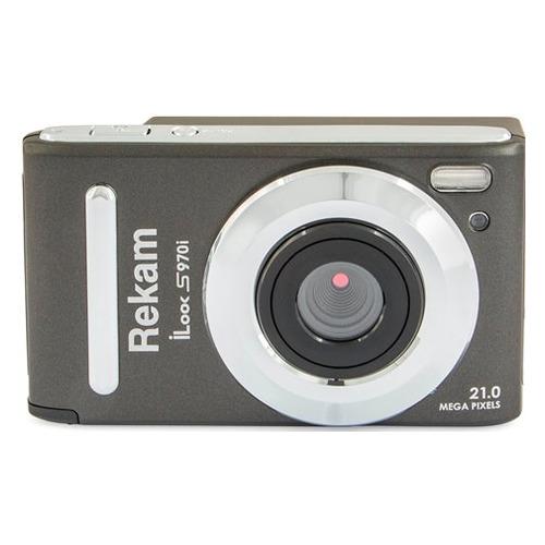 Фото - Цифровой фотоаппарат REKAM iLook S970i, темно-серый календаные блоки verdana 3 0 офсет миди 3 сп серый 2020