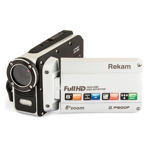 Фото - Видеокамера REKAM DVC-380, серебристый, Flash [2504000003] видеокамера rekam dvc 340 black