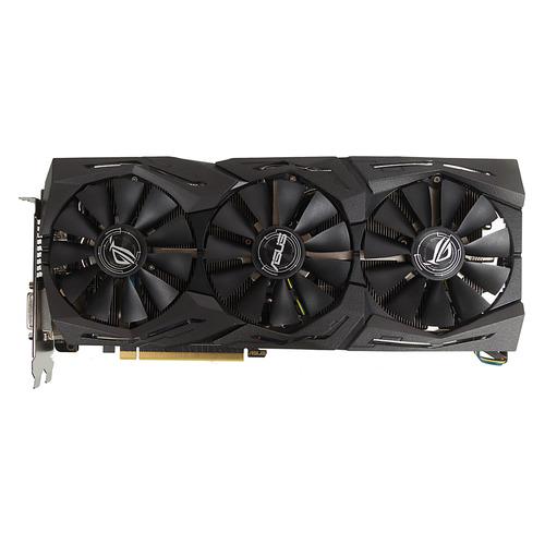 Видеокарта ASUS AMD Radeon RX 580 , ROG-STRIX-RX580-T8G-GAMING, 8Гб, GDDR5, OC, Ret цена 2017