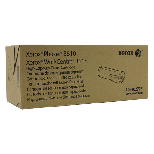 Картридж XEROX 106R02723 черный картридж xerox 106r02721 для xerox ph 3610 wc 3615 черный