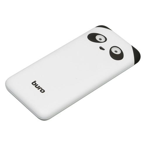 Внешний аккумулятор (Power Bank) BURO RA-10000PD-WT Panda, 10000мAч, белый