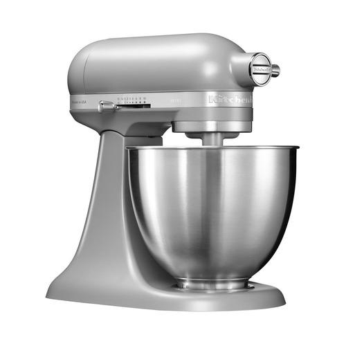 Кухонная машина KITCHENAID MINI Artisan 5KSM3311X, серый матовый [5ksm3311xefg]