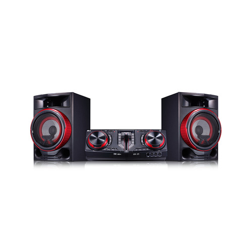 Музыкальный центр LG CJ87, черный lg an mr650 пульт ду универсальный
