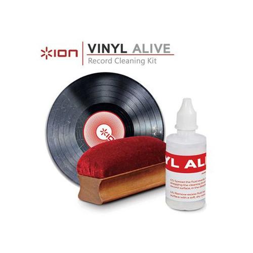 Фото - Комплект для очистки ION Audio VINYL ALIVE (для виниловых проигрывателей) чистящая жидкость спрей brauberg 513288