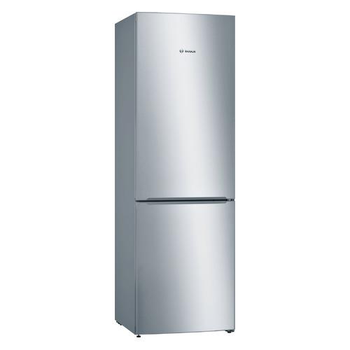 лучшая цена Холодильник BOSCH KGV36NL1AR, двухкамерный, серебристый