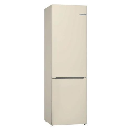 Холодильник BOSCH KGV39XK22R, двухкамерный, бежевый холодильник bosch kgn39xg34r двухкамерный золотистый