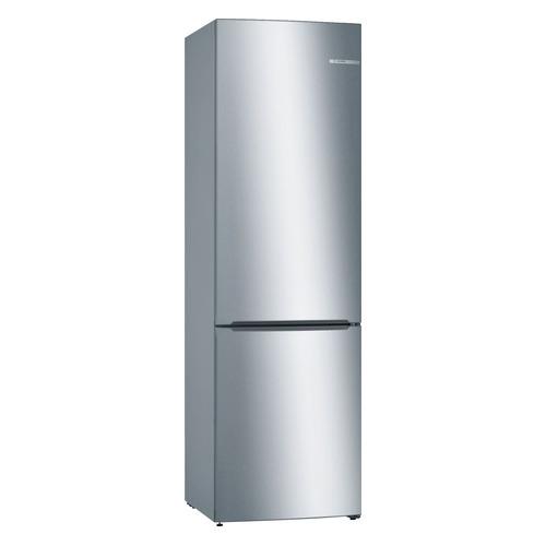 Холодильник BOSCH KGV39XL22R, двухкамерный, нержавеющая сталь холодильник bosch kgv39xl22r двухкамерный нержавеющая сталь