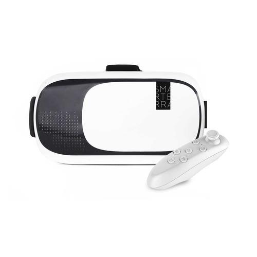 Фото - Очки виртуальной реальности SMARTERRA VR, белый [3dsmarvr] очки виртуальной реальности smarterra vr2 mark 2 черный [3dsmvr2mk2bk]
